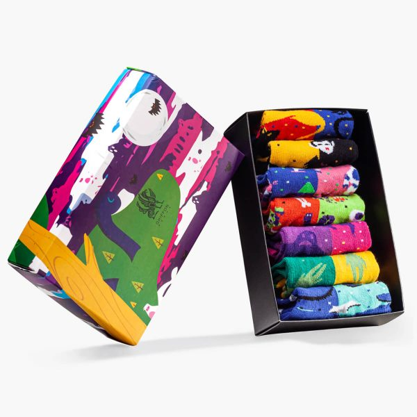 Monsters low box for kids